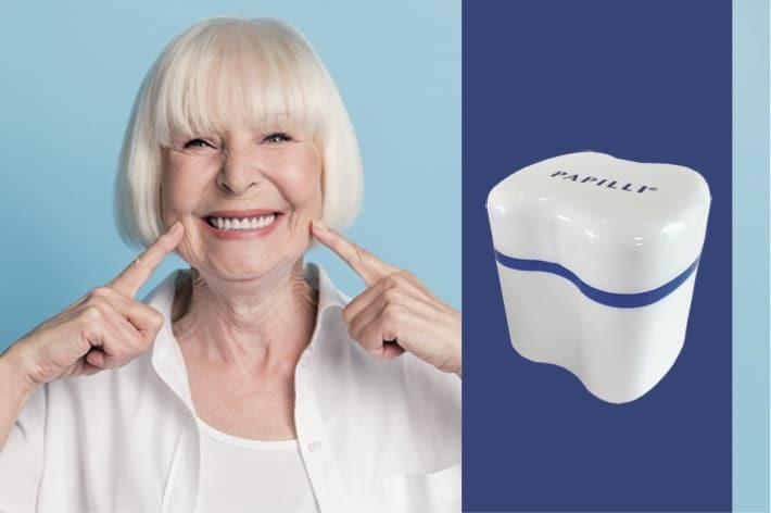 Retrouvez le sourire avec nos boîtes à prothèse, de toutes les couleurs et dans toutes les tailles