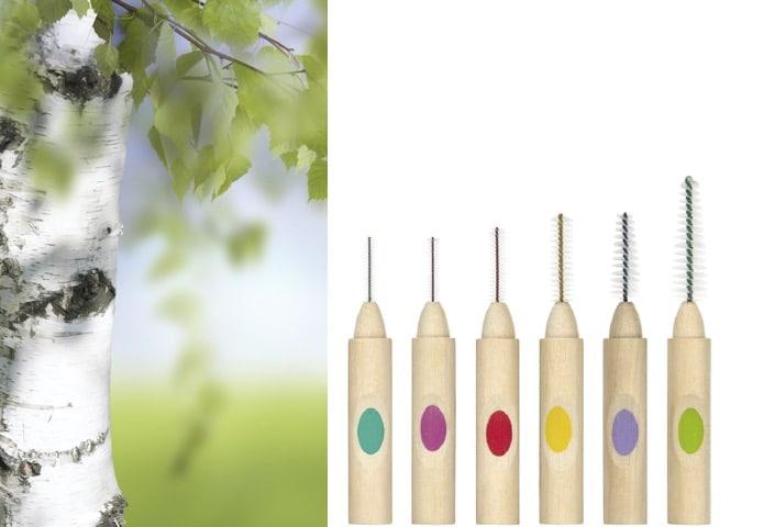 Quelle couleur préfèrent vos espaces interdentaires ? Testez le Woodi-startkit, 0% plastique !